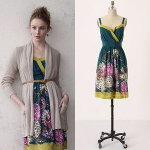 Anthropologie Impressionist's Dream By Maeve Dress